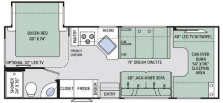 Four Winds 26B Floorplan